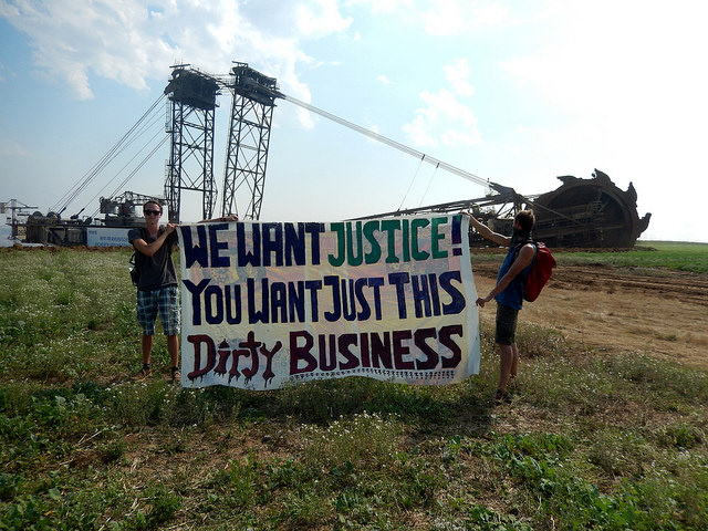 We want justice, you want just this dirty business