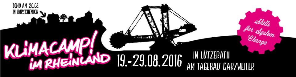 Klimacamp im Rheinland 2016