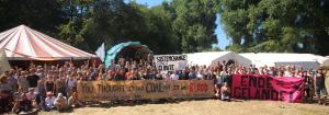 klimacamp solidarity for Bangladesh anti-coal-movement